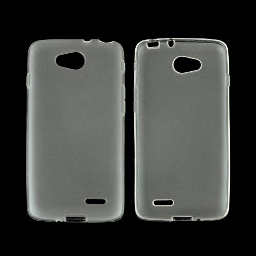 Clear/ Frost LG L90 Flexible Crystal Silicone Tpu Case - Conforms To Your Phone Without Strecthing Out!