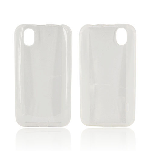 LG Marquee LS855 Crystal Silicone Case - Clear