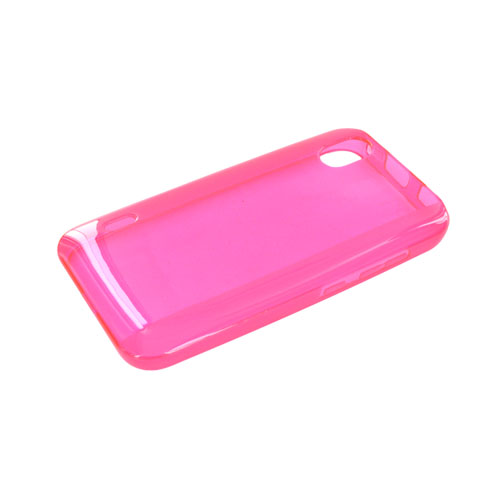 LG Marquee LS855 Crystal Silicone Case - Hot Pink