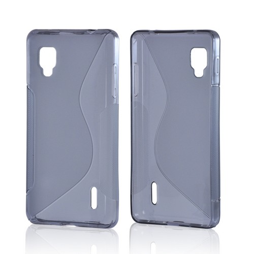 Smoke S Crystal Silicone Case for LG Optimus G (Sprint)