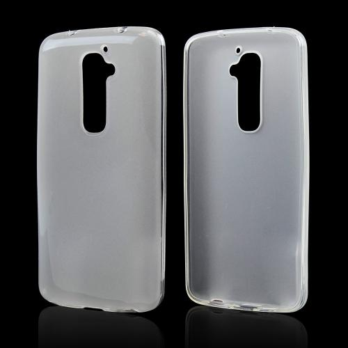 Clear/ Frost Crystal Silicone Skin Case for LG G2 (AT&T, T-Mobile, & Sprint)