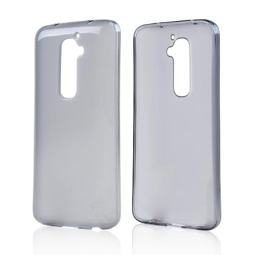 Smoke/ Frosted Crystal Silicone Skin Case for LG G2 (AT&T, T-Mobile, & Sprint)