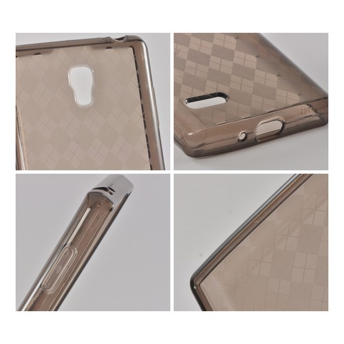 Argyle Smoke Crystal Silicone Case for LG Optimus L9