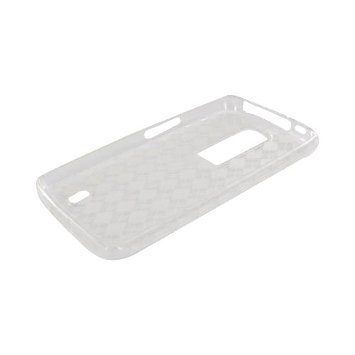 LG Nitro HD Crystal Silicone Case - Argyle Clear
