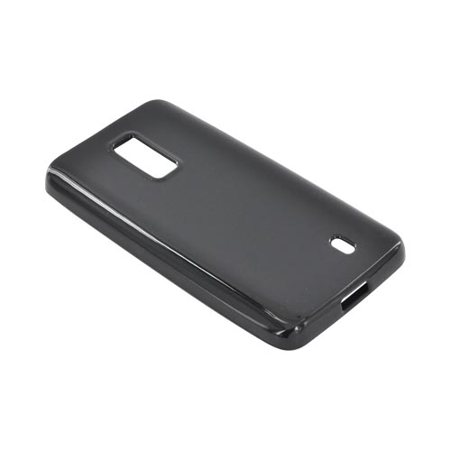 LG Spectrum Crystal Silicone Case - Black (Argyle Interior)