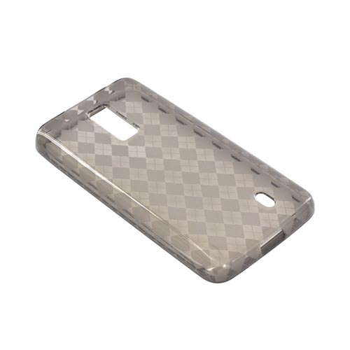 LG Spectrum Crystal Silicone Case - Argyle Smoke
