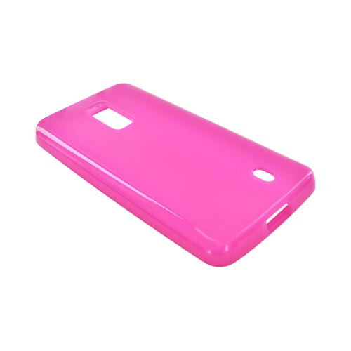 LG Spectrum Crystal Silicone Case - Hot Pink