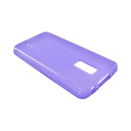 LG Spectrum Crystal Silicone Case - Purple
