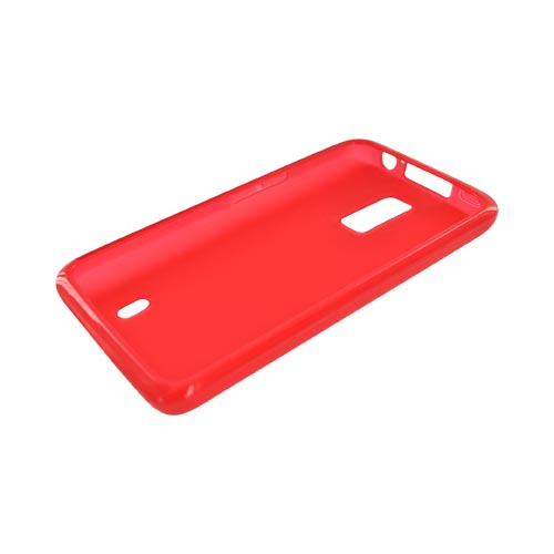 LG Spectrum Crystal Silicone Case - Red