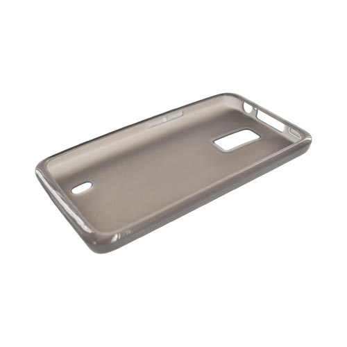 LG Spectrum Crystal Silicone Case - Smoke