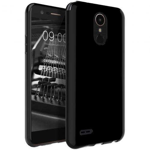 LG Stylo 3 Case, REDshield Slim & Flexible Anti-shock Crystal Silicone TPU Skin Protective Cover [Black]