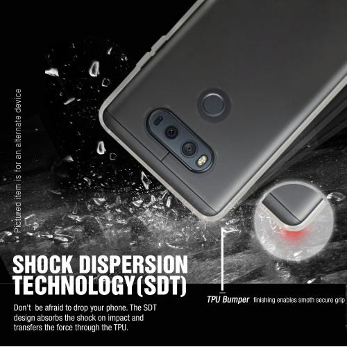 [LG V20] TPU Case, REDshield [Clear] Slim & Flexible Anti-shock Crystal Silicone Protective TPU Gel Skin Case Cover