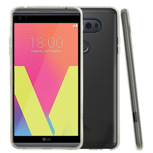 LG V20 TPU Case, REDshield [Clear] Slim & Flexible Anti-shock Crystal Silicone Protective TPU Gel Skin Case Cover