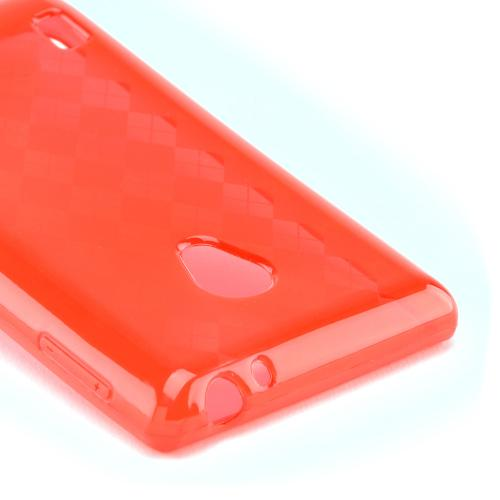 Argyle Red Crystal Silicone Case for LG Lucid 2
