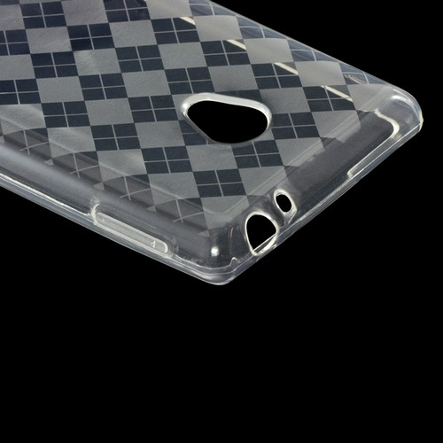 Clear Argyle Crystal Silicone Case for LG Spirit 4G