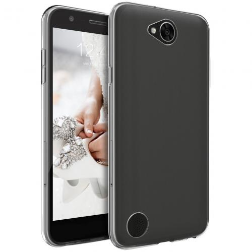 LG X Calibur Case, [REDshield] Slim & Flexible Anti-shock Crystal Silicone Protective TPU Gel Skin Case Cover [Clear]