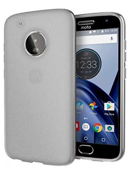 Motorola Moto G5 Plus Case, [REDshield] Slim & Flexible Anti-shock Crystal Silicone Protective TPU Gel Skin Case Cover [Clear]