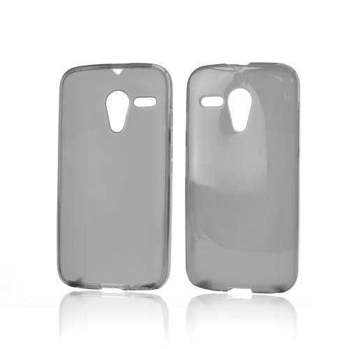 Smoke Crystal Silicone Skin Case for Motorola Moto G
