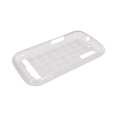 Motorola Photon 4G Crystal Silicone Case - Argyle Clear