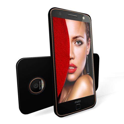 Motorola Moto Z Force Case, REDshield [Black] Slim & Flexible Anti-shock Crystal Silicone Protective TPU Gel Skin Case Cover