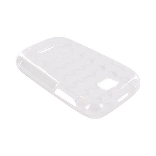 Motorola Theory Crystal Silicone Case - Argyle Clear