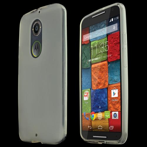 Motorola Moto X (2014) Skin [clear/frost] Protective Bumper Case W/ Flexible Tpu Impact Resistant Material [Perfect Fitting Motorola Moto X Case]