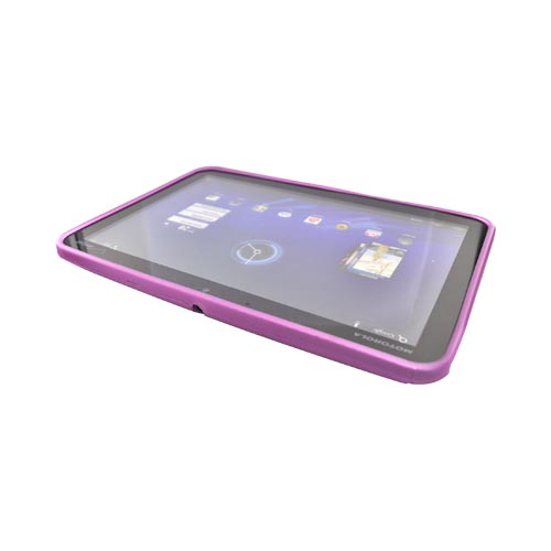 Motorola Xoom Crystal Silicone Case - Hot Pink S Design