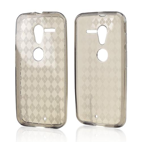 Smoke Crystal Silicone Skin Case for Motorola Moto X