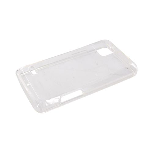 Motorola Droid Bionic XT875 Crystal Silicone Case - Clear