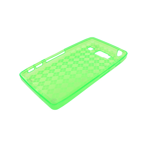 Motorola Droid RAZR HD Crystal Silicone Case - Argyle Green