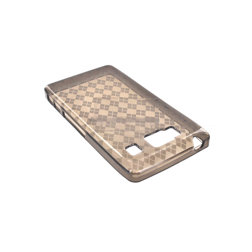 Motorola Droid RAZR HD Crystal Silicone Case - Argyle Smoke