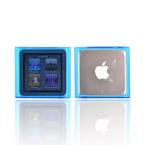 Luxmo Apple iPod Nano 6 Crystal Silicone Case - Blue