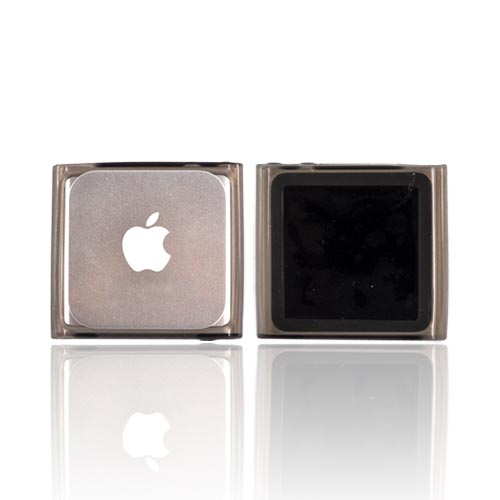 Luxmo Apple iPod Nano 6 Crystal Silicone Case - Smoke