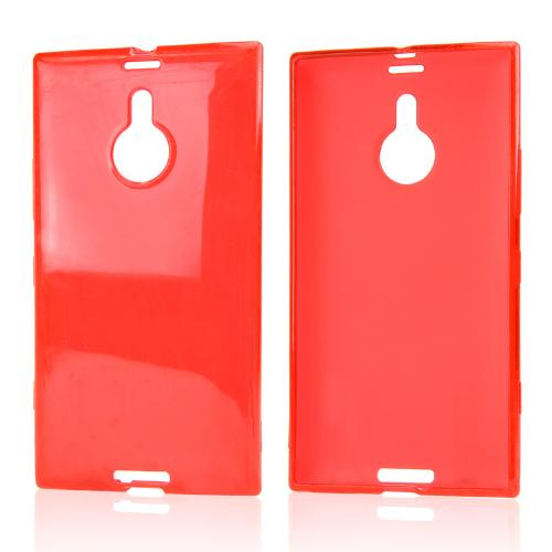 Red Crystal Silicone Skin Case for Nokia Lumia 1520
