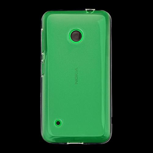 Clear/ Frost Nokia Lumia 530 Flexible Crystal Silicone TPU Case - Conforms To Your Phone Without Stretching Out!