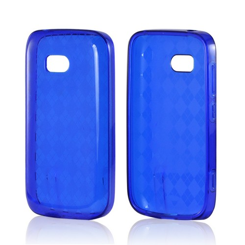 Argyle Blue Crystal Silicone Case for Nokia Lumia 822
