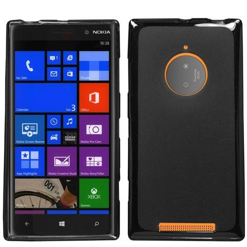 Nokia Lumia 830 Tpu Case [black] Protective Bumper Case W/ Flexible Crystal Silicone Tpu Impact Resistant Material
