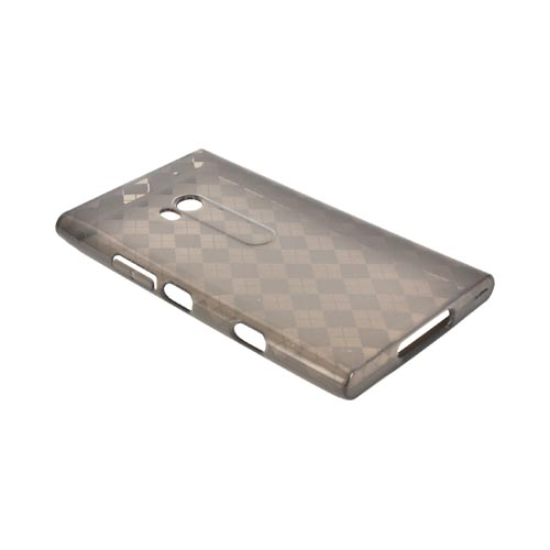 Nokia Lumia 900 Crystal Silicone Case - Argyle Smoke