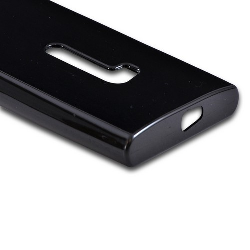 Nokia Lumia 920 Crystal Silicone Case - Black