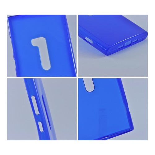 Nokia Lumia 920 Crystal Silicone Case - Blue