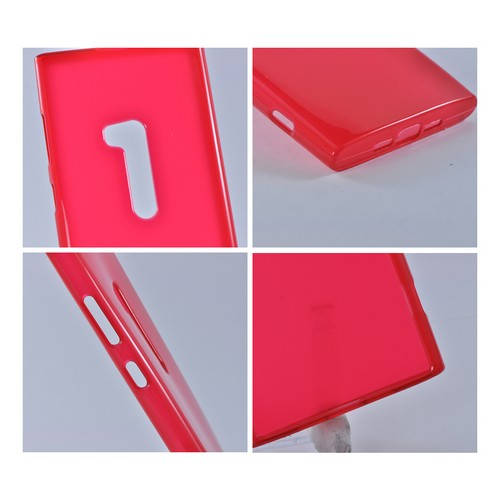 Nokia Lumia 920 Crystal Silicone Case - Red