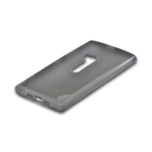 Nokia Lumia 920 Crystal Silicone Case - Smoke