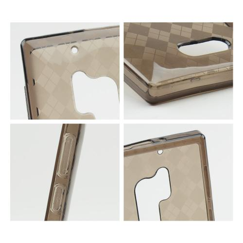 Argyle Smoke Crystal Silicone Case for Nokia Lumia 928