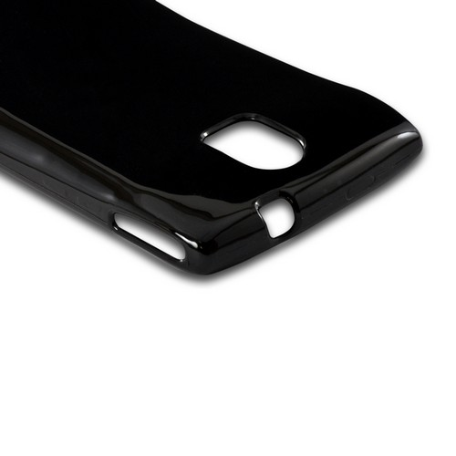 Black (Argyle Interior) Crystal Silicone Case for Pantech Discover