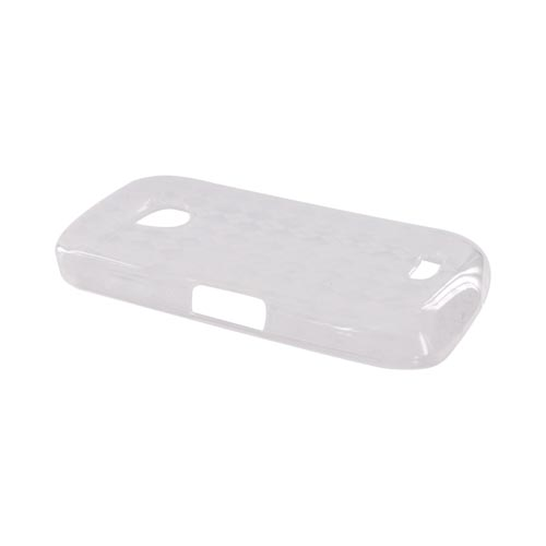 Samsung Droid Charge Crystal Silicone Case - Argyle Clear