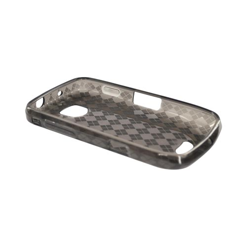 Samsung Droid Charge Crystal Silicone Case - Argyle Smoke