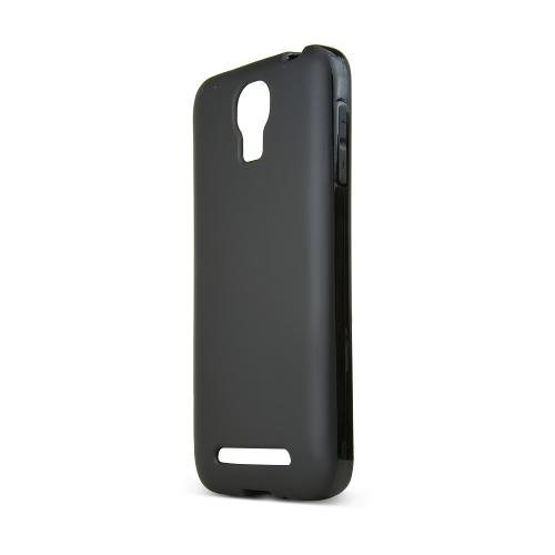 Black Samsung ATIV SE Flexible Crystal Silicone TPU Case - Conforms To Your Phone Without Stretching Out!