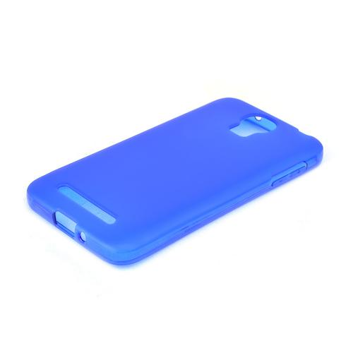 Blue/ Frost Samsung ATIV SE Flexible Crystal Silicone TPU Case - Conforms To Your Phone Without Stretching Out!