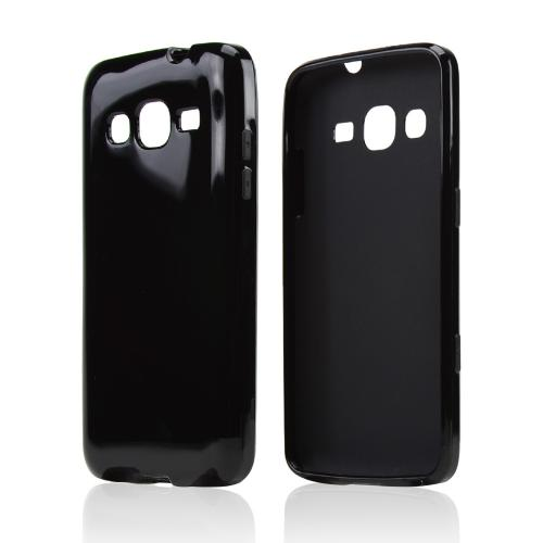 Black Crystal Silicone Skin Case for Samsung Ativ S Neo
