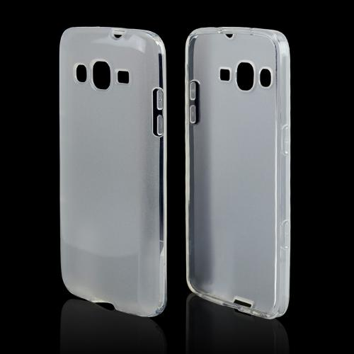 Clear/ Frost Crystal Silicone Skin case for Samsung ATIV S Neo
